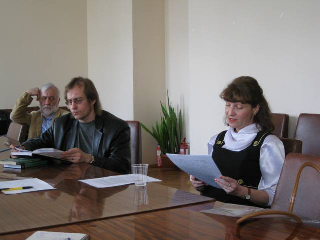 Session LXVI, April 30, 2013. Subject: «The Presentiment of &quot;Christian Tantra&quot;: the Problem of Meeting of Paradigms in the Works<br> of Lou Andreas-Salomé». Speaker: Lesya Garmash.