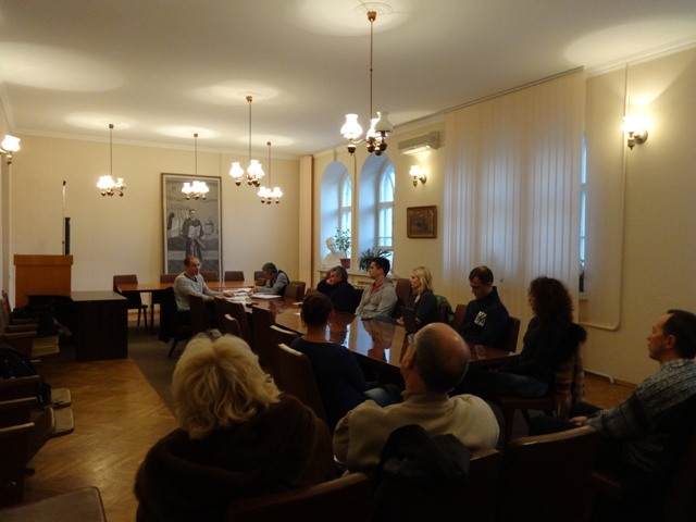 Session LXXX, October 28, 2014. Subject: «Contemporary Problems of Yoga Darśana». Speaker: Dmitry Danilov.