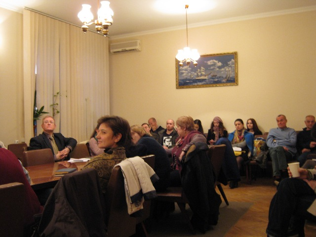 Session LXXХIX, November 3, 2015. Subject: «Ideas of Emptiness and Purity in Western and Eastern Philosophy».<br> Speakers: Anna Ilyina, Anastasia Strelkova.